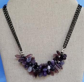 Purple Magic Necklace